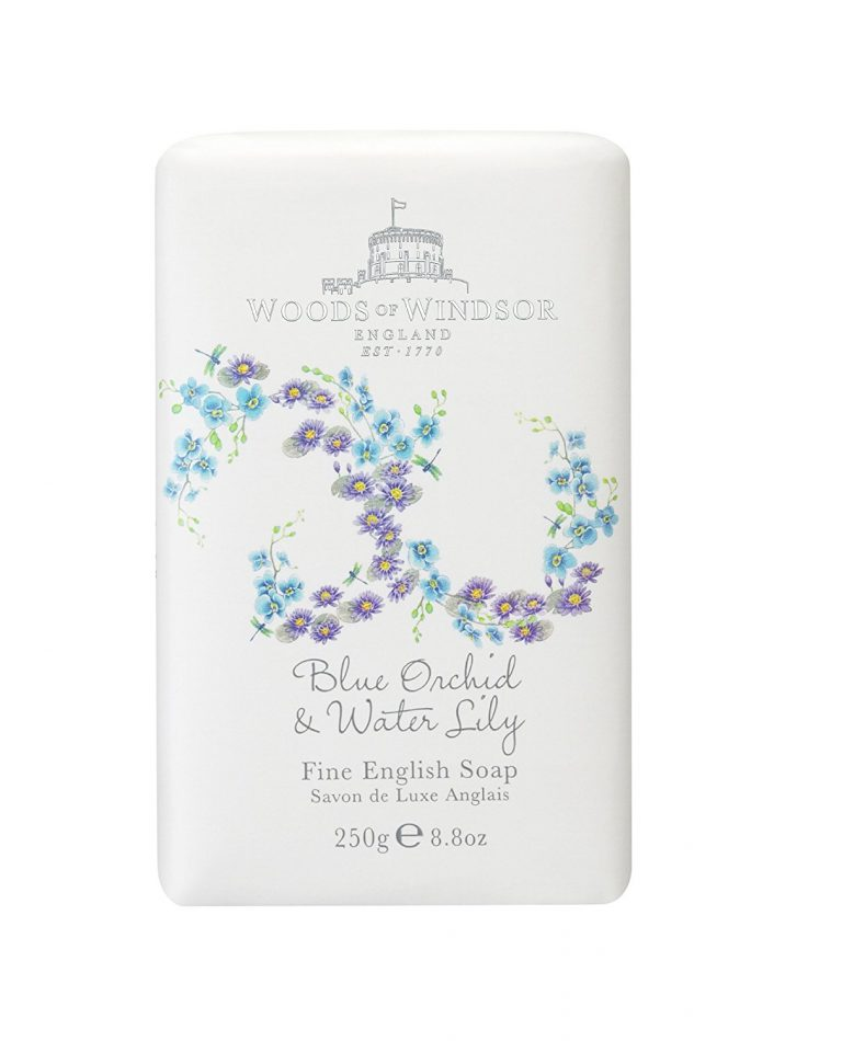 Woods of Windsor Blue Orchid Water Lily Fine English Soap 250g