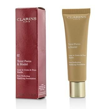 Clarins Pore Perfecting Matifying Foundation 30ml – 02 Nude Beige