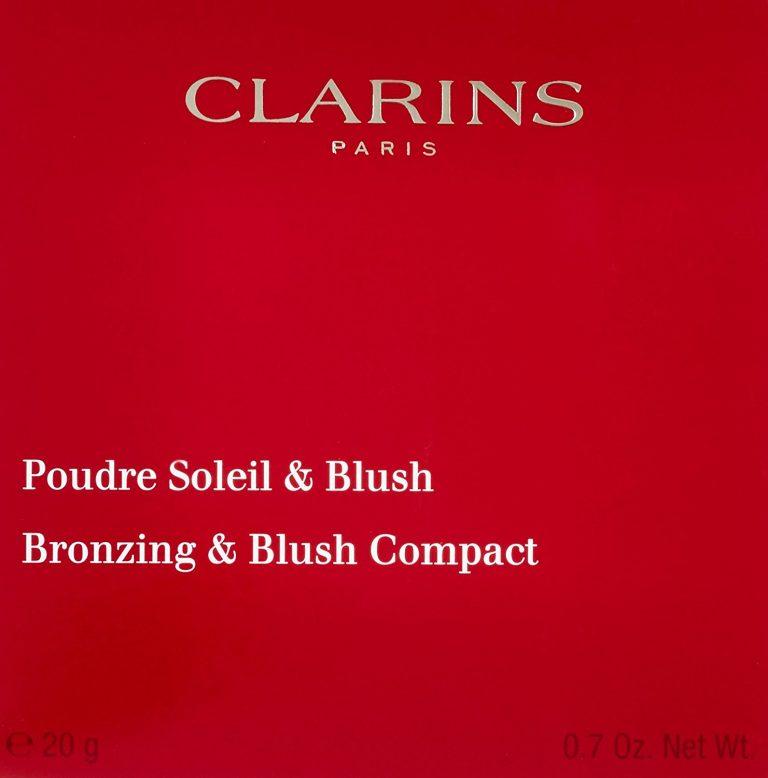 Clarins Poudre Soleil Blush Compact Powder 20g