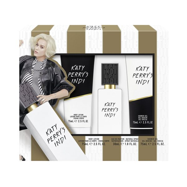 Katy Perry Katy Perry's Indi Gift Set 30ml EDP 75ml Shower Gel 75ml Body Lotion