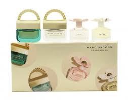 Marc Jacobs Miniatures Gift Set 4 x 4ml Daisy Daisy Eau So Fresh Decadence Divine Decadence