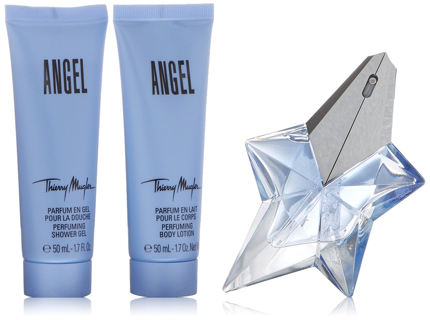 Thierry Mugler Angel Gift Set 50 Edp 100ml Shower Gel 100ml Body