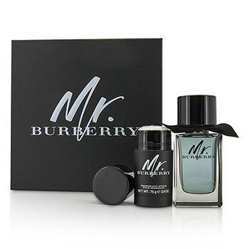 Burberry Mr. Burberry Gift Set 100ml EDT 75g Deodorant Stick