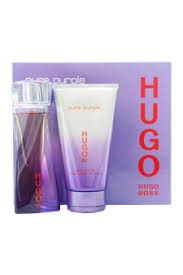 Hugo Boss Pure Purple Gift Set 30ml EDP 50ml Body Lotion