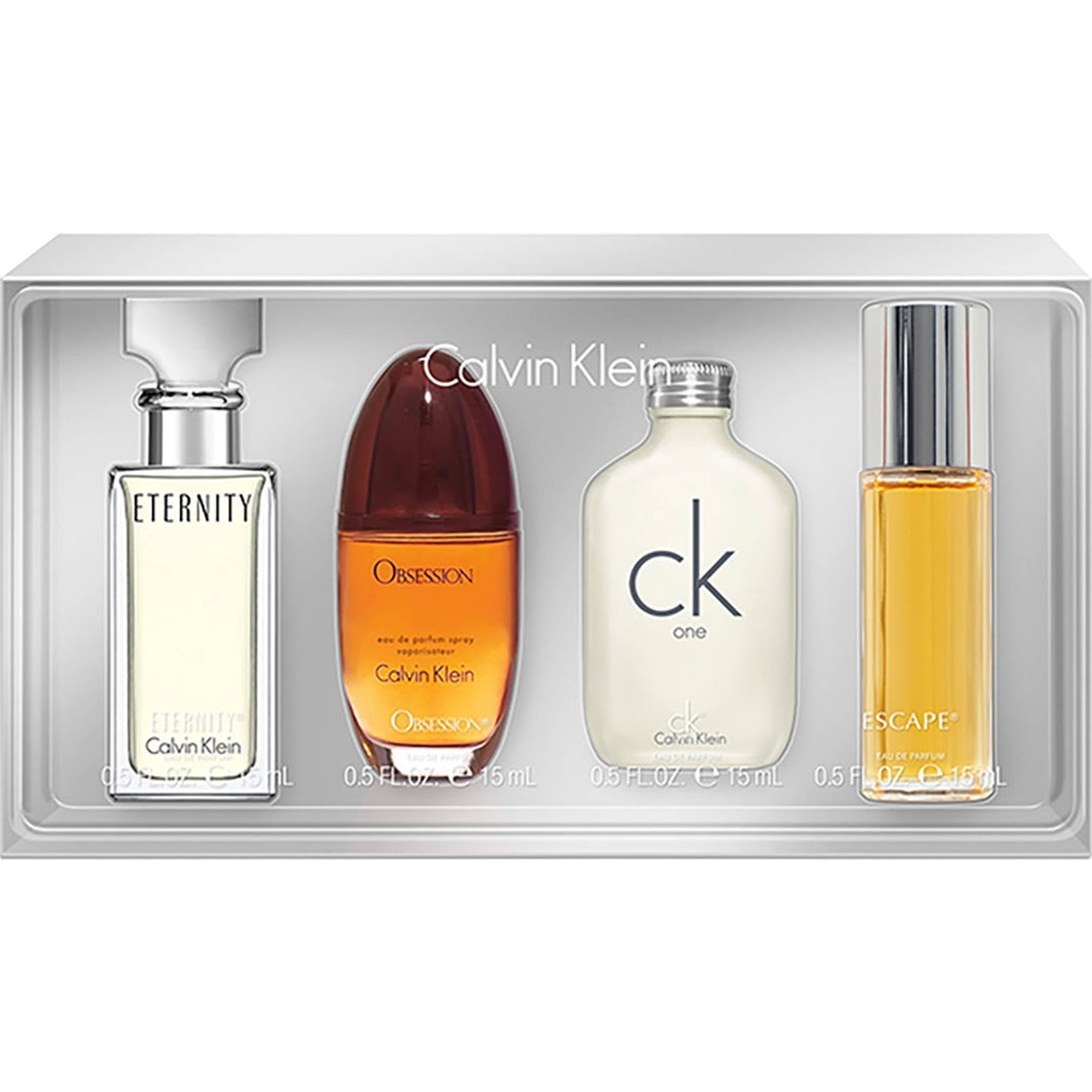 Calvin Klein Women Miniature Gift Set 4 X 15ml EDT
