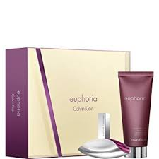 Calvin Klein Euphoria Gift Set 100ml EDP 100ml Body Lotion