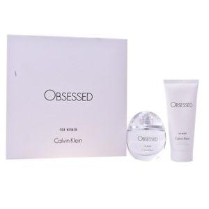 Calvin Klein Obsessed for Women Gift Set 50ml EDP 100ml Body Lotion