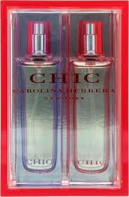 Carolina Herrera Chic Gift Set 30ml EDP Red Edition 30ml EDP Purple Edition