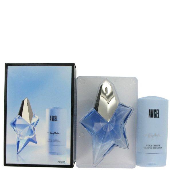 Thierry Mugler Angel Gift Set 50ml EDP 100ml Body Lotion