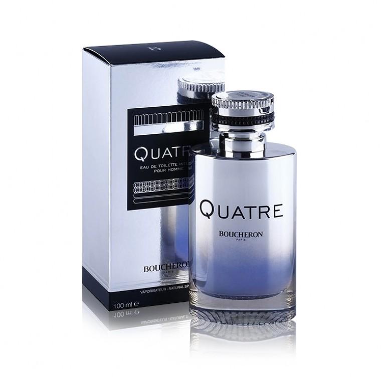 big sale 42803 8ade2 Boucheron Quatre Intense Pour Homme Eau de Toilette 100ml EDT Spray