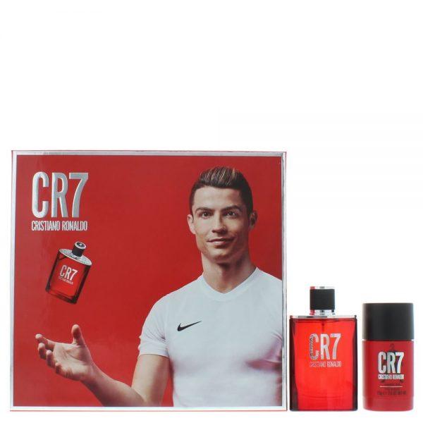 Cristiano Ronaldo CR7 Gift Set 50ml EDT 75g Deodorant Stick