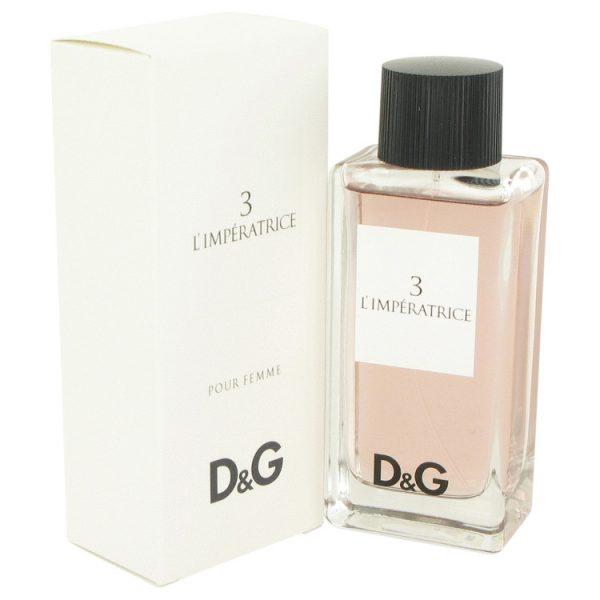 Dolce Gabbana DG 3 LImperatrice Eau De Toilette 100ml Spray