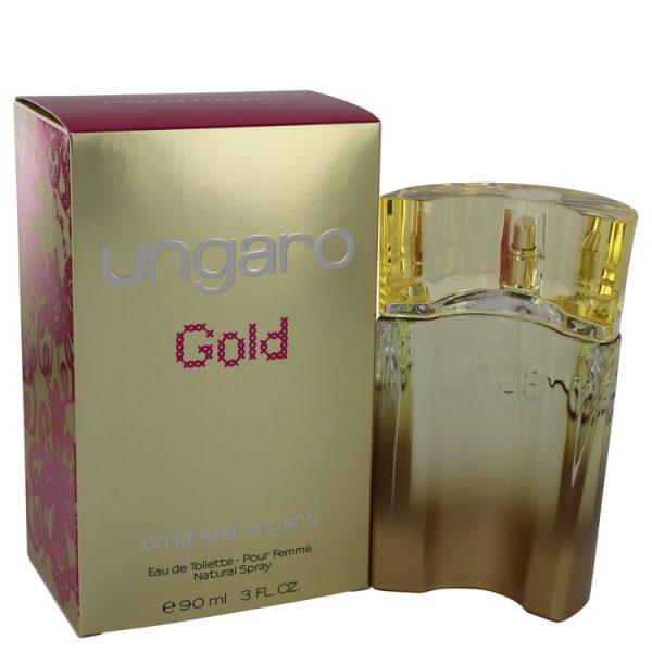 Emanuel Ungaro Gold Eau De Toilette 90ml Spray