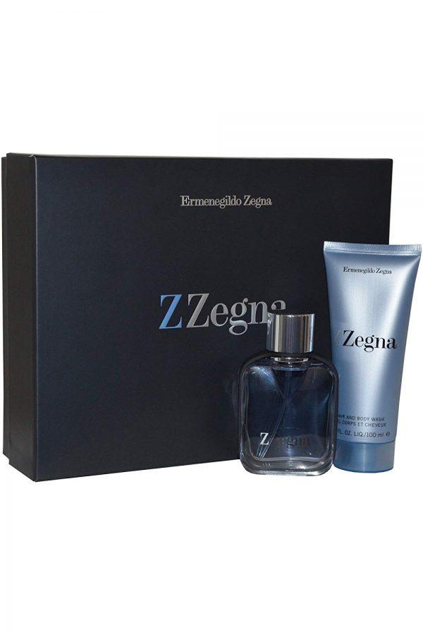 Ermenegildo Zegna Z Zegna Gift Set 50ml EDT 100ml Hair Body Wash