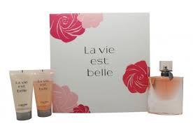Lancome La Vie Est Belle Gift Set 50ml EDP 50ml Shower Gel 50ml Body Lotion1