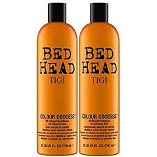 Product Description. Tigi Bed Head Colour Goddess Twin Gift Set ...