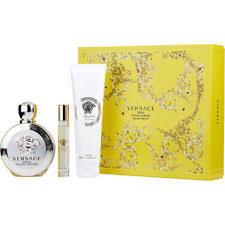 Product Description. Versace Eros Pour Femme Gift Set 100ml ...