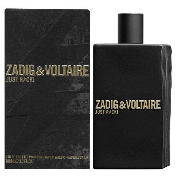 Zadig Voltaire Just Rock for Him Eau de Toilette 100ml Spray