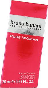 Bruno Banani Pure Woman Eau de Toilette 20ml Spray