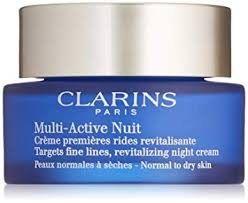 Clarins Multi Active Nuit Revitalizing Night Cream 50ml Normal to Dry Skin