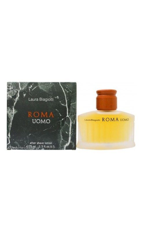 Laura Biagiotti Roma Uomo Aftershave 75ml Splash