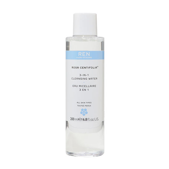REN Clean Skincare 3 in 1 Cleansing Water 200ml 0099389