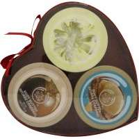 The Body Shop Nutty Sweetheart Body Butter Gift Set 3 Pieces