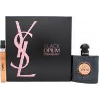 Yves Saint Laurent Black Opium Gift Set 50ml EDP 10ml EDP