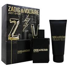 dfbcdcad Zadig & Voltaire Just Rock! for Him Gift Set 50ml EDT + 100ml Shower Gel