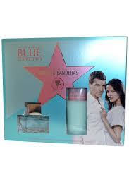 Antonio Banderas Blue Seduction for Women Gift Set 80ml EDT 75ml Body Lotion