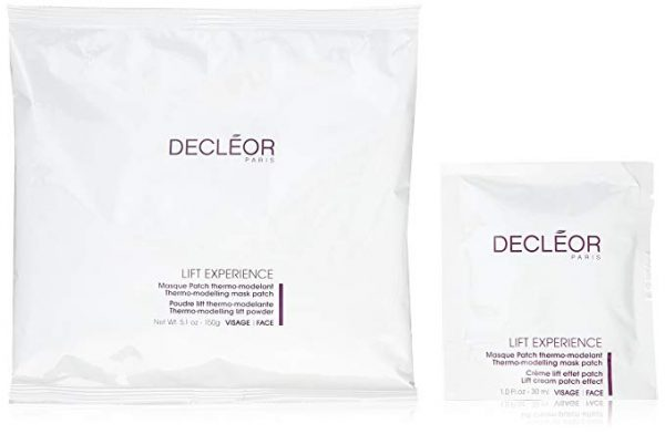 Decleor Lift Experience Thermo Modelling Mask Patches Kit 5x150g Powder 5x30ml Cream Patches