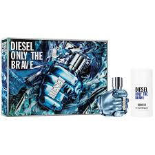 Diesel Only The Brave Gift Set 75ml EDT 75g Deodorant Stick