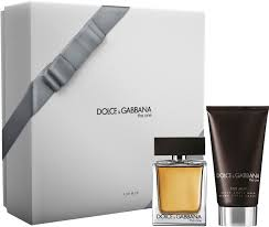 Dolce Gabbana The One For Men Gift Set 50ml EDT 75ml Aftershave Balm