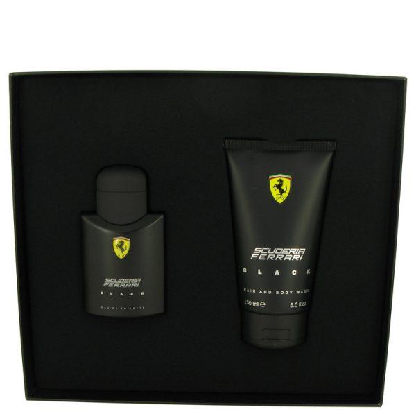 Ferrari Scuderia Ferrari Black Gift Set 75ml EDT 150ml Shower Gel