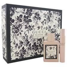 Gucci Bloom Nettare Di Fiori Gift Set 50ml EDP 7.4ml EDP Rollerball