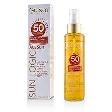 Guinot Sun Logic Age Sun Anti Ageing Sun Dry Oil For Body SPF50 150ml