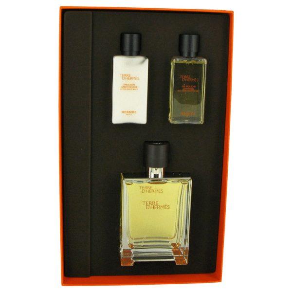 Hermès Terre dHermès Gift Set 75ml EDP 50ml Shaving Foam 40ml Aftershave Lotion