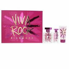 John Richmond Viva Rock Gift Set 50ml EDT 15ml EDT 50ml Body Lotion