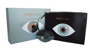 Kenzo World Gift Set 50ml EDP 75ml Body Lotion Pouch Green Editio