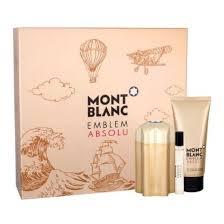 Mont Blanc Emblem Absolu Gift Set 100ml EDT 100ml Shower Gel 7.5ml EDT