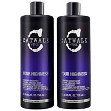 Tigi Catwalk Your Highness Duo Pack 750ml Shampoo 750ml Conditioner