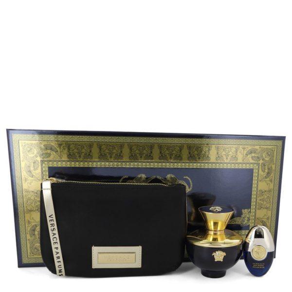 Versace Pour Femme Dylan Blue Gift Set 100ml EDP 10ml EDP Pouch1