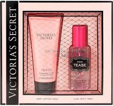 Victorias Secret Tease Gift Set 75ml Fragrance Mist 100ml Body Lotion