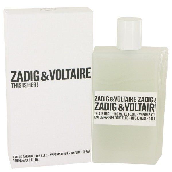 this is her zadig voltaire eau de parfum spray 100ml