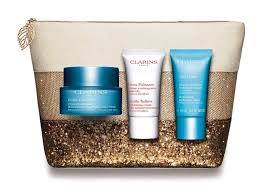 Clarins Beauty in Blue Hydra Essentiel Holiday Edition Gift Set 7 Pieces