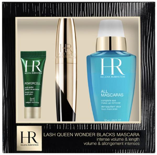 Helena Rubinstein Lash Queen Wonder Blacks Mascara Gift Set 7ml Mascara 50ml All Mascaras Make Up Remover 3ml Prodigy Eye Care