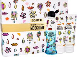Moschino So Real Cheap Chic Gift Set 50ml EDT 100ml Shower Gel 100ml Body Lotion 1