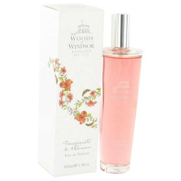 Woods of Windsor Pomegranate Hibiscus Eau De Toilette 100ml Spray