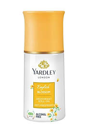 Yardley English Blossom Roll On Deodorant 50ml