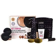 bareMinerals Get Started On The Go Complexion Kit Gift Set 8 Pieces Medium Beige